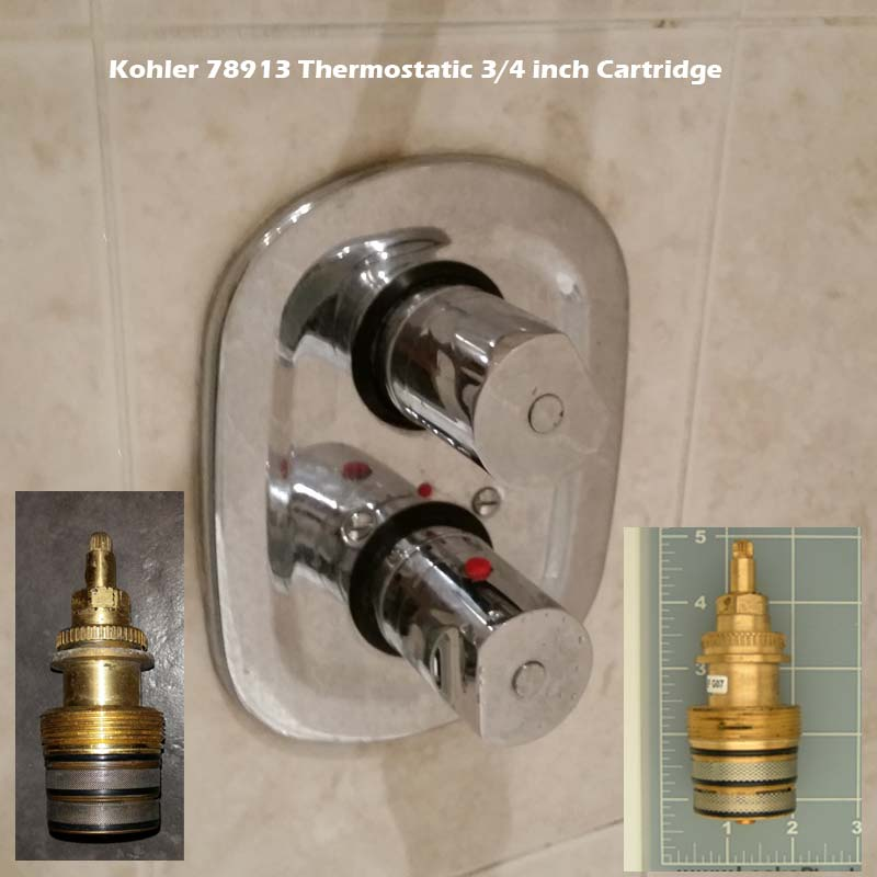grohe faulty kohler 78913 thermostatic 3 4 inch cartridge
