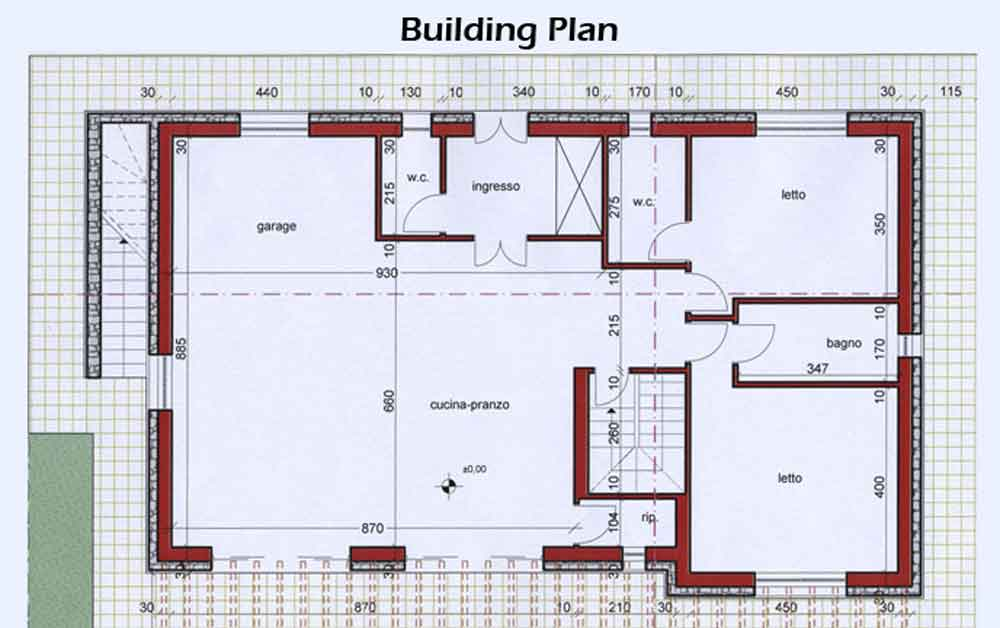 Index of images text plans Building plans