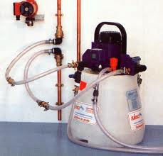 Powerflush_boiler_installation