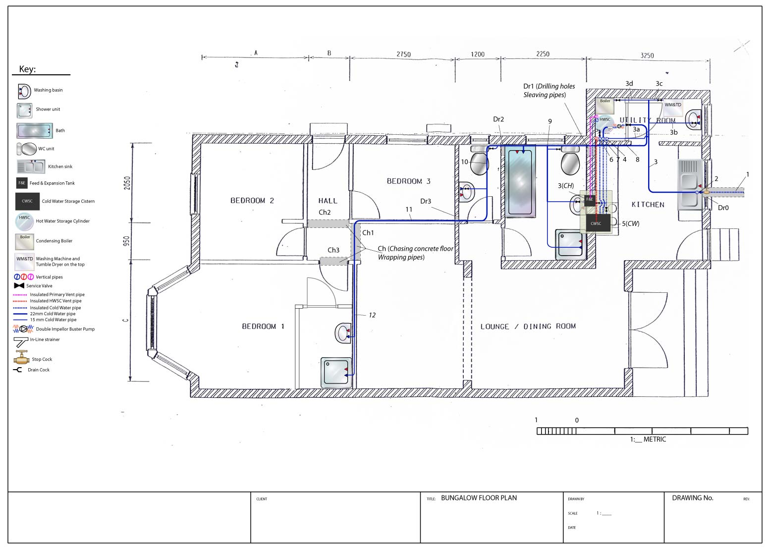 home plumbing system design
