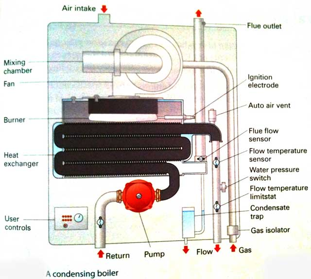 Compare Gas Condensing Boilers - Wiring Diagrams •