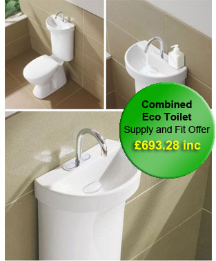 Toilet Suite With Integrated Hand Basin ECO